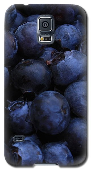 Blueberries Close-up - Vertical Galaxy S5 Case