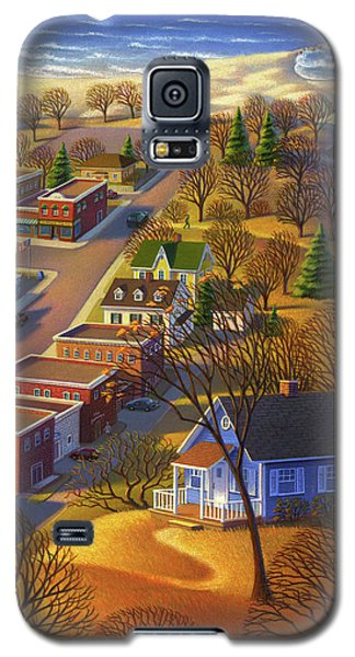Blueberry Cottage Hill  Galaxy S5 Case
