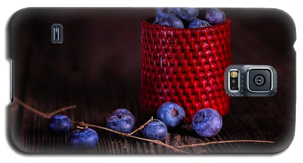 Blueberry Delight Galaxy S5 Case