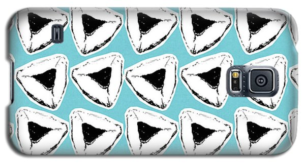 Galaxy S5 Case featuring the mixed media Blueberry Hamentashen- Art By Linda Woods by Linda Woods