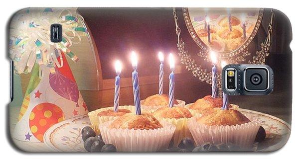 Blueberry Muffin Birthday Galaxy S5 Case