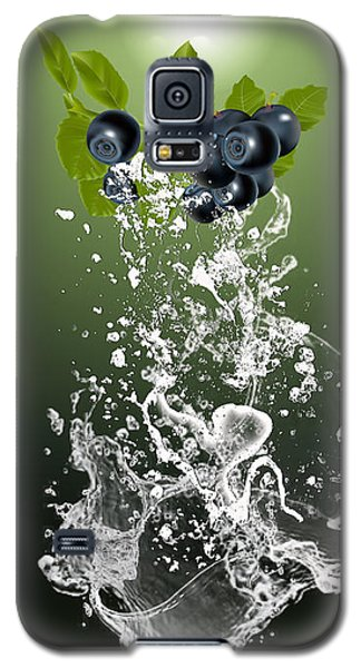 Blueberry Splash Galaxy S5 Case