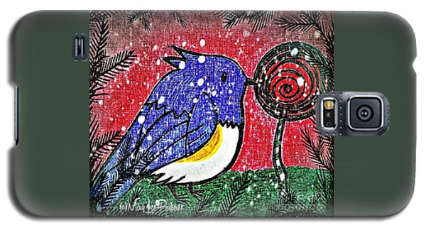 Bluebird Of The Season Galaxy S5 Case