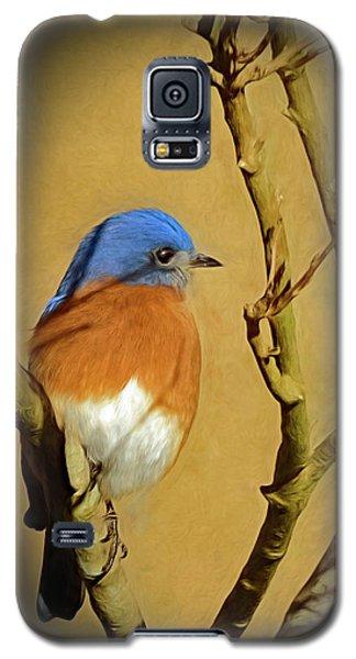 Bluebird Waiting For Spring Galaxy S5 Case