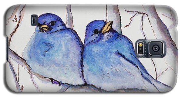 Bluebirds Galaxy S5 Case