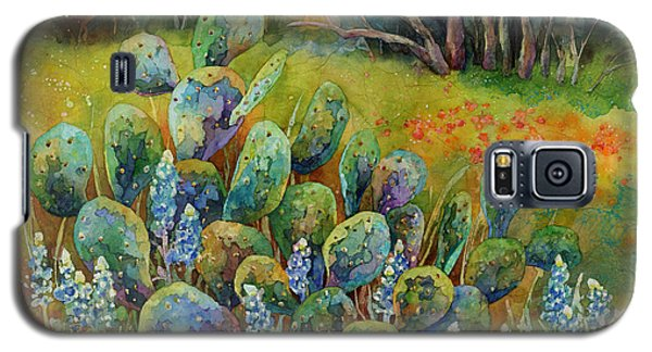Bluebonnets And Cactus Galaxy S5 Case