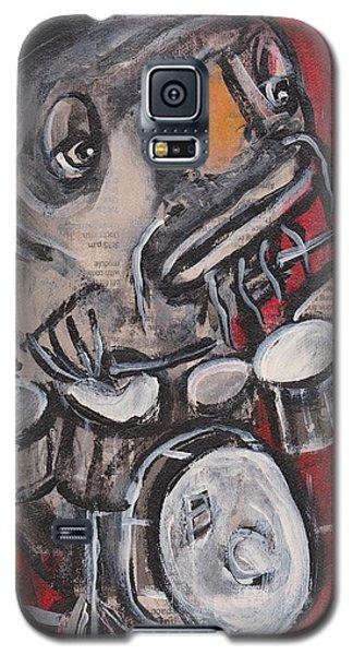 Blues Cat Drums Galaxy S5 Case