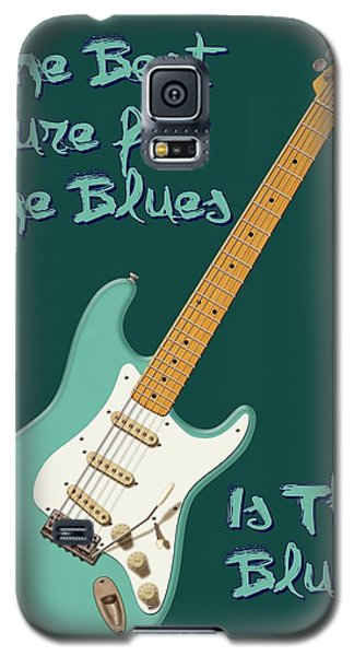 Blues Cure Seafoam Galaxy S5 Case