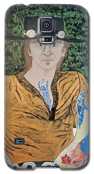 Blues In The Park With Stevie Ray Vaughan. Galaxy S5 Case