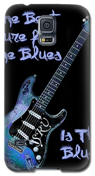 Blues Is The Cure Galaxy S5 Case by WB Johnston