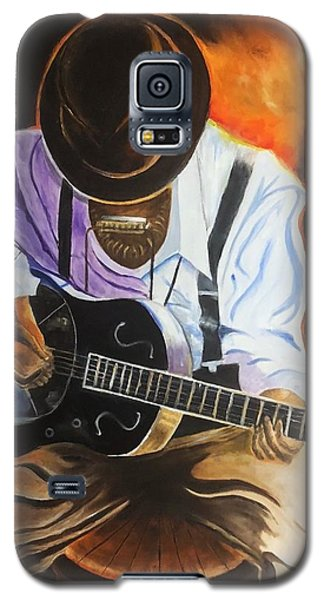 Blues Player Galaxy S5 Case