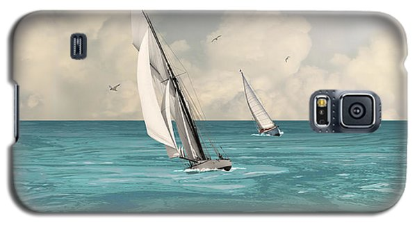 Bluewater Cruising Sailboats Galaxy S5 Case