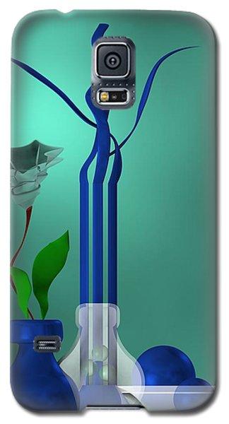 Bluish Still Life Growing Galaxy S5 Case
