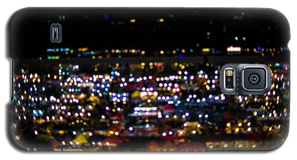Galaxy S5 Case featuring the photograph Blurred City Lights  by Jingjits Photography