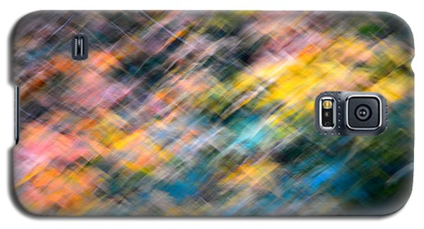 Blurred Leaf Abstract 1 Galaxy S5 Case