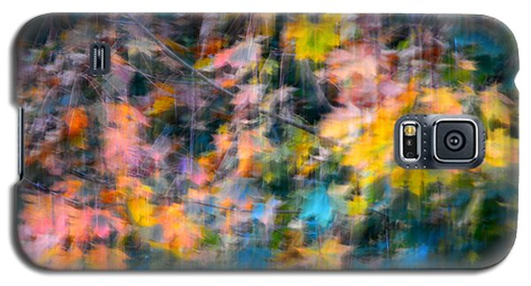 Blurred Leaf Abstract 2 Galaxy S5 Case