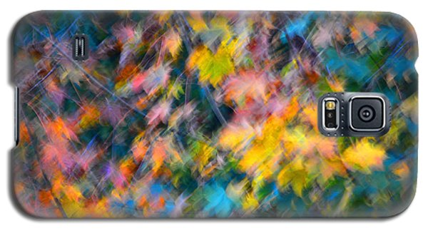 Blurred Leaf Abstract 3 Galaxy S5 Case
