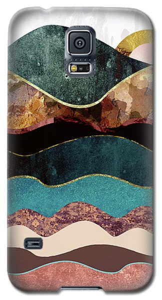 Landscapes Galaxy S5 Case - Blush Moon by Katherine Smit