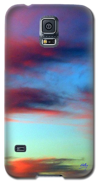 Blushed Sky Galaxy S5 Case by Linda Hollis