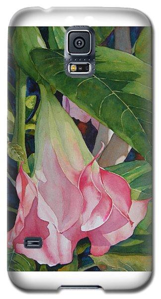 Blushing Angel Galaxy S5 Case by Judy Mercer