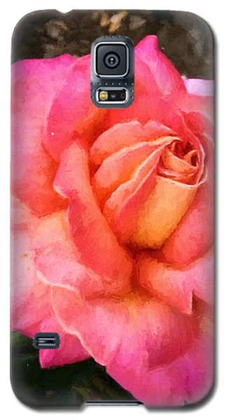 Blushing Rose Galaxy S5 Case