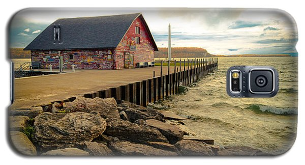 Blustery Day At Anderson Barn Galaxy S5 Case