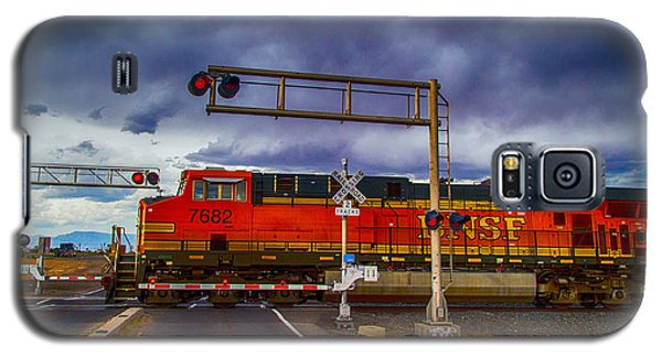Bnsf 7682 Crossing Galaxy S5 Case