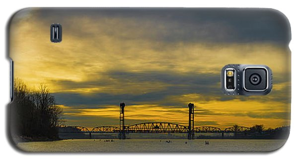 Bnsf Railroad Bridge 5.1 Galaxy S5 Case