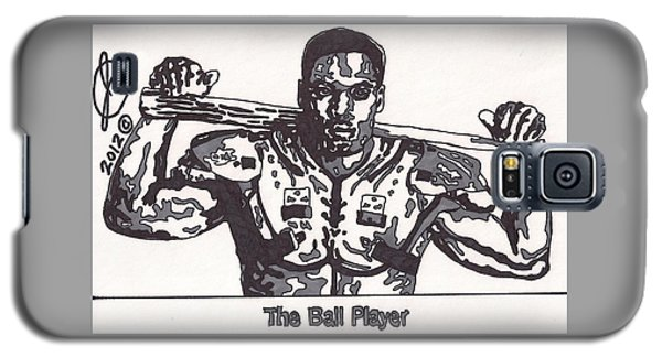 Bo Jackson The Ball Player Galaxy S5 Case by Jeremiah Colley