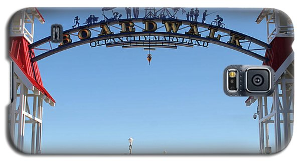 Boardwalk Arch At N Division St Galaxy S5 Case