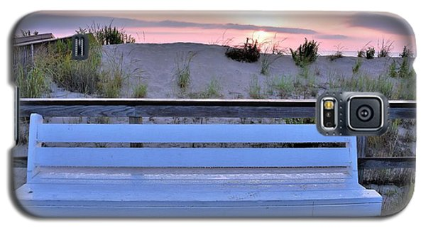 A Welcome Invitation -  The Boardwalk Bench Galaxy S5 Case