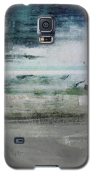 Boardwalk Blues 2- Art By Linda Woods Galaxy S5 Case by Linda Woods