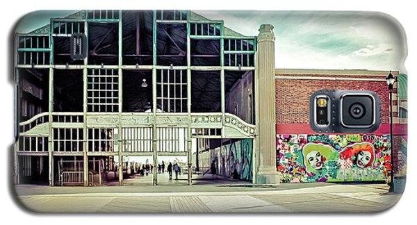 Galaxy S5 Case featuring the photograph Boardwalk Casino - Asbury Park by Colleen Kammerer