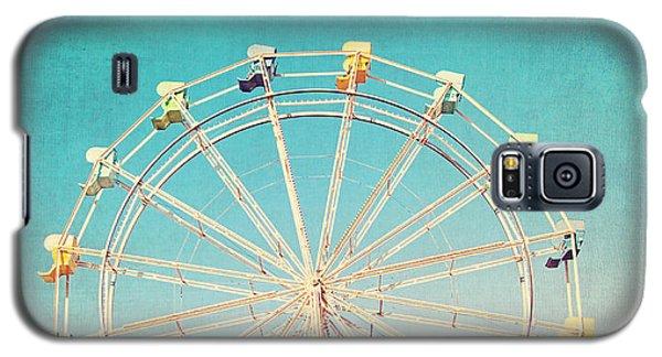 Boardwalk Ferris Wheel Galaxy S5 Case by Melanie Alexandra Price