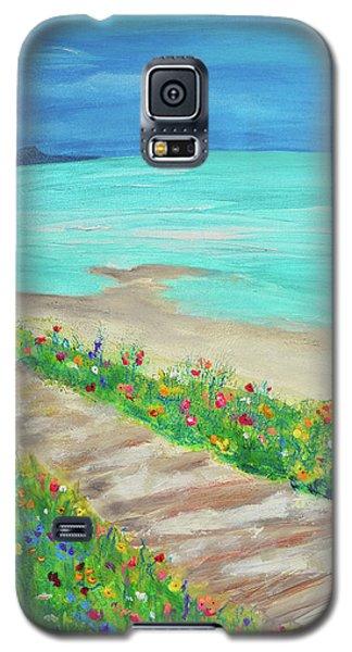 Boardwalk In Carmel Galaxy S5 Case