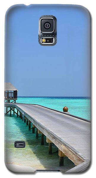 Boardwalk In Paradise Galaxy S5 Case
