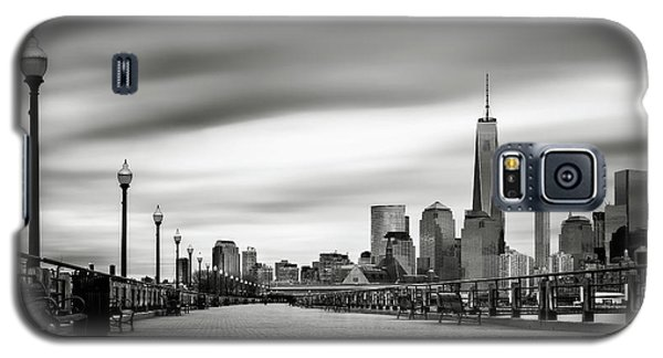 Boardwalk Into The City Galaxy S5 Case by Eduard Moldoveanu