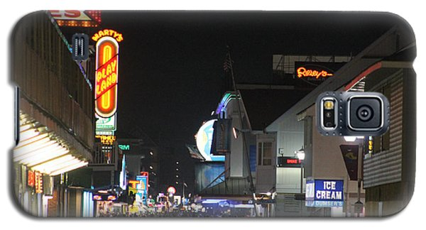 Boardwalk Night Lights Galaxy S5 Case