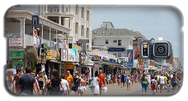 Boardwalk Ocean City Md Galaxy S5 Case by Robert Banach