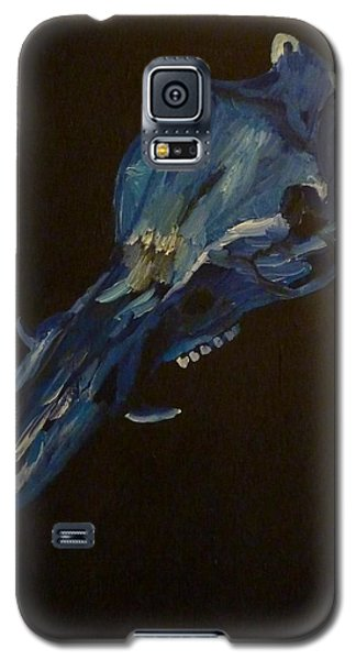 Galaxy S5 Case featuring the painting Boar's Skull No. 2 by Joshua Redman