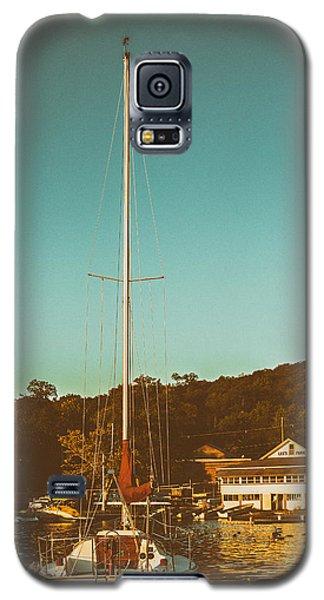 Boat At Lees Park Galaxy S5 Case