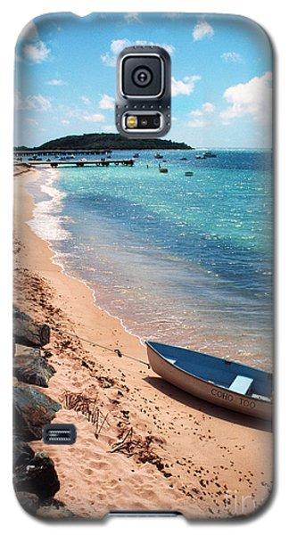 Boat Beach Vieques Galaxy S5 Case