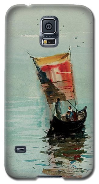 Boat Galaxy S5 Case by Helal Uddin