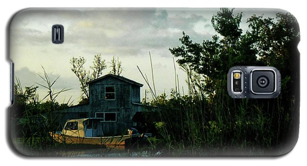 Galaxy S5 Case featuring the photograph Boat House by Cynthia Powell