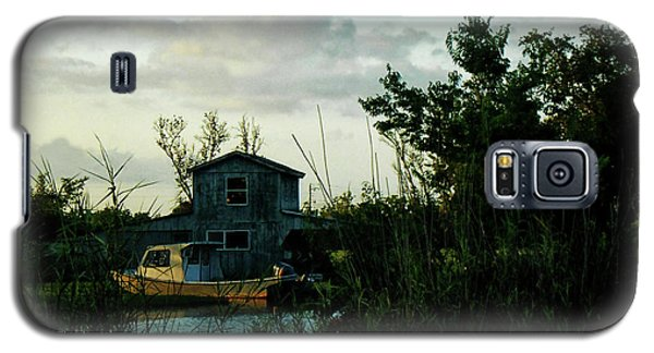 Boat House Galaxy S5 Case by Cynthia Powell