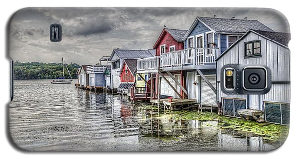 Boat Houses In The Finger Lakes Galaxy S5 Case