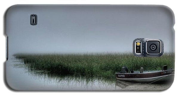 Boat In The Fog Galaxy S5 Case