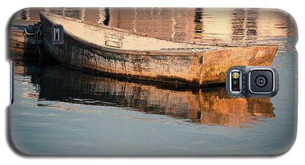 Boat In The Harbor Galaxy S5 Case