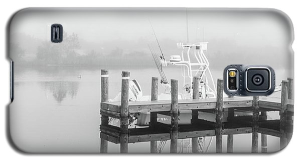 Galaxy S5 Case featuring the photograph Boat In The Sounds Alabama  by John McGraw