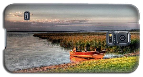 Boat On A Minnesota Lake Galaxy S5 Case